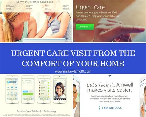 at the comfort of your home urgent care visit from the comfort of your home