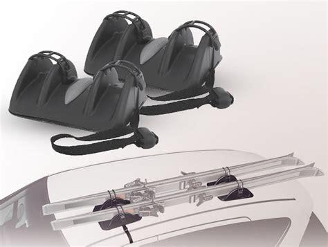 porte ski voiture porte ski magn 233 tique pour 2 paires cable s 233 curit 233 driver