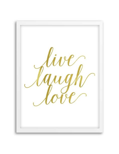 live laugh love art live laugh love wall art gold free printable