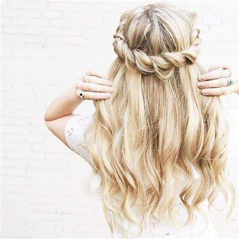 rope braid hairstyles for long hair 189 best hair styles half up half down images on