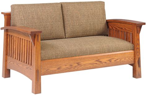 Up To 33 Country Mission - up to 33 country mission loveseat solid wood furniture