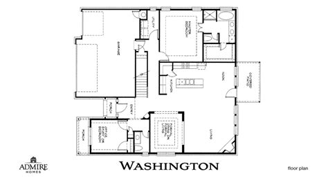 washington floor plan washington admire custom homes