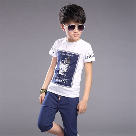 fashion clothes for 8 year old boy aliexpress com buy kids boys clothes summer suit 2016