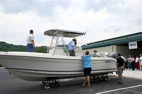 cobia boats dealers cobia boats reveals its new n c production facility at