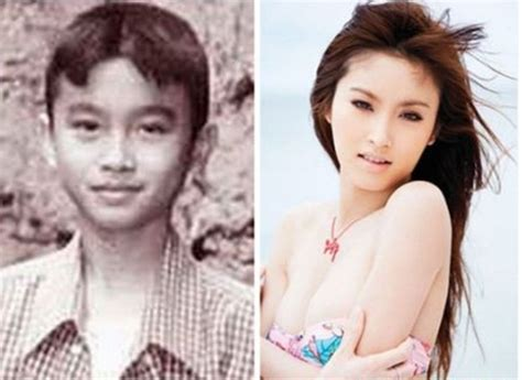 transgender before and after beautiful transgender nong poy transgender 2015