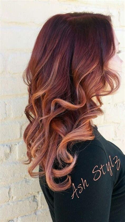 mahogany brown hair color curly hair 10 mahogany hair color ideas ombre balayage hairstyles