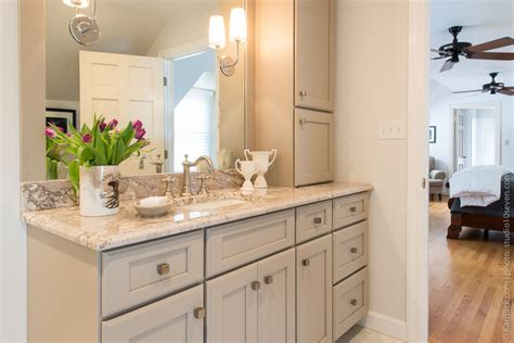 Bathroom Vanities St Louis Mo by Neutral Painted Cabinets Bathroom Renovation St Louis Mo