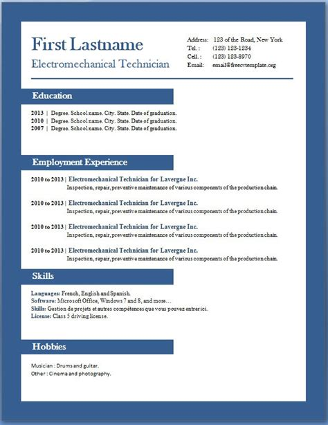 doc 14471189 free creative resume templates word