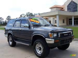 1991 Toyota 4runner 1991 Gray Metallic Toyota 4runner Sr5 V6 4x4 8118527