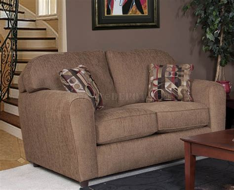 council sofa collection council mocha fabric modern sofa loveseat set w options