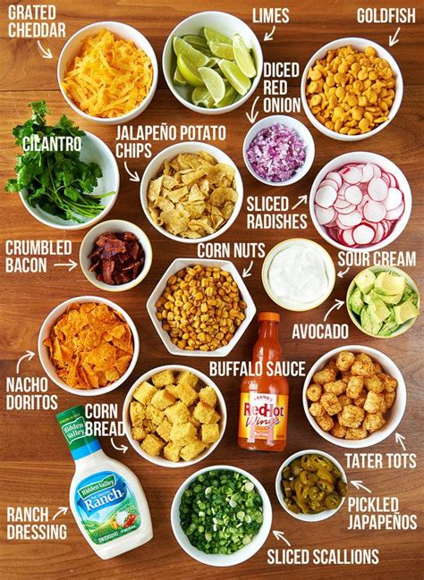 nacho bar toppings list this epic chili bar is the easiest party you ll ever throw