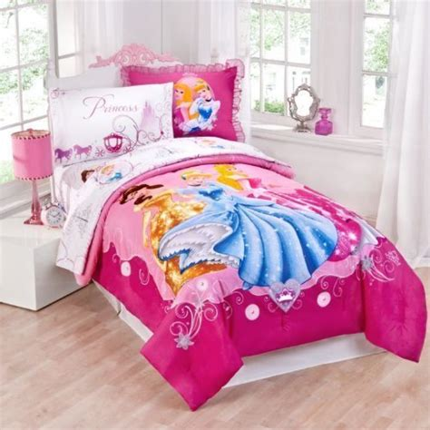 Pink Disney Princess Comforter Twin Sheet Sets For Princess Bedding Set