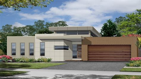 contemporary one story house plans modern single storey house plans modern single storey