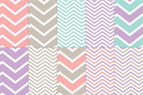 zig zag pattern pastel pastel zigzag 22 pattern set patterns on creative market