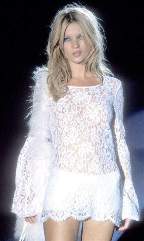 Catwalk To Photo Shoot Kate Moss In Donna Karan by Gucci The One And Only Kate Moss Runway