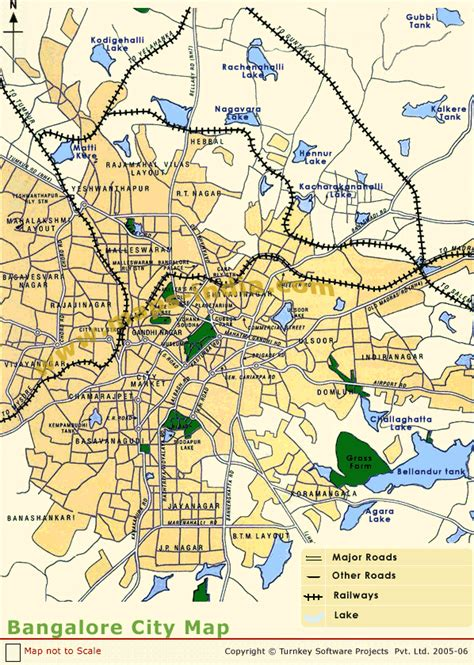 bangalore city map images bangalore city map