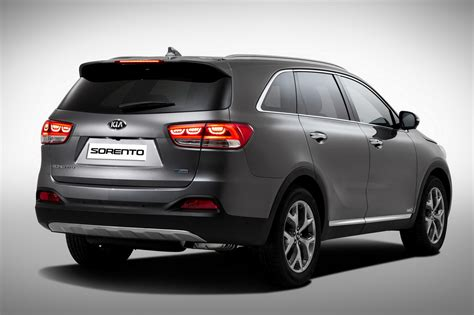 Kia Sornto 2015 Kia Sorento Detailed Confirmed For Motor Show