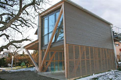 Anbau Haus Holz by Referenzen Im Holzbau Hecht Holzbau Ag