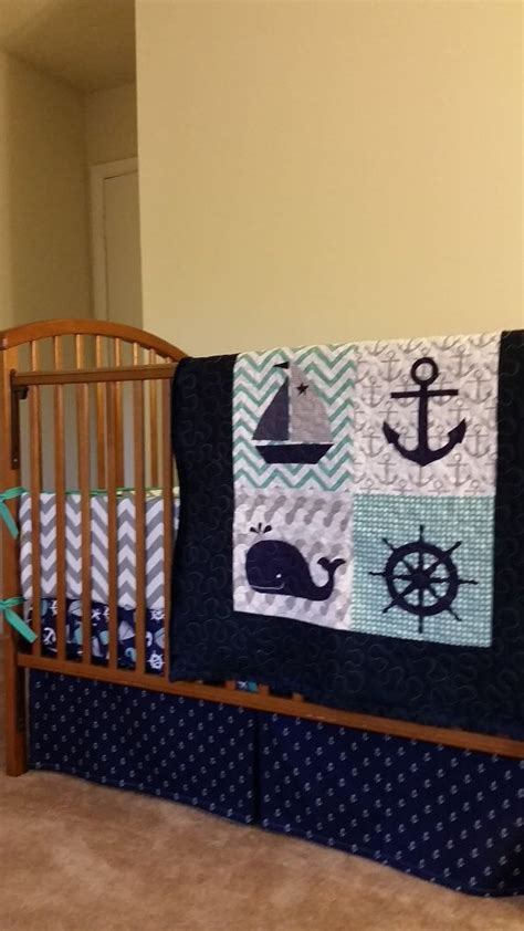 anchor baby bedding 25 best ideas about nautical quilt on pinterest baby