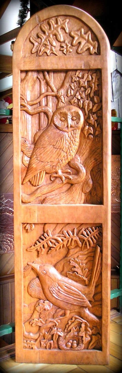 wood carving ideas   rustic home decor