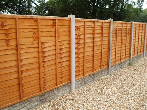 Fence Panels fence panel waney 6ft w x 3ft h 1 8m x 90cm