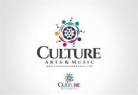design is culture professional bold logo design for culture arts music