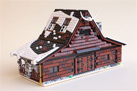 House And Barn by Lego Ideas Winter Farm The Family Brick