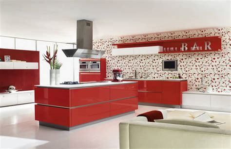 red lacquer kitchen cabinets china high gloss red kitchen cabinet laminate kitchen