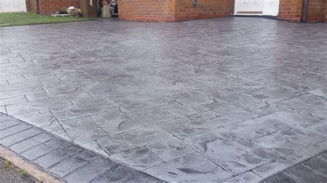 pattern concrete slate styles pattern imprinted concrete driveways wigan