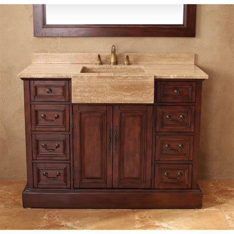 Bathroom Vanity No Top Contemporary 48 Inch Single Bathroom Vanity Gray Finish No Top With 48 Inch Bathroom Vanity With