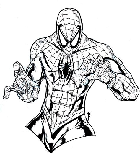 marvel coloring pages spiderman marvel the spectacular spider man coloring pages