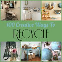 Diy Recycled Home Decor Recycle Furniture Project Ideas Trend Home Design And Decor