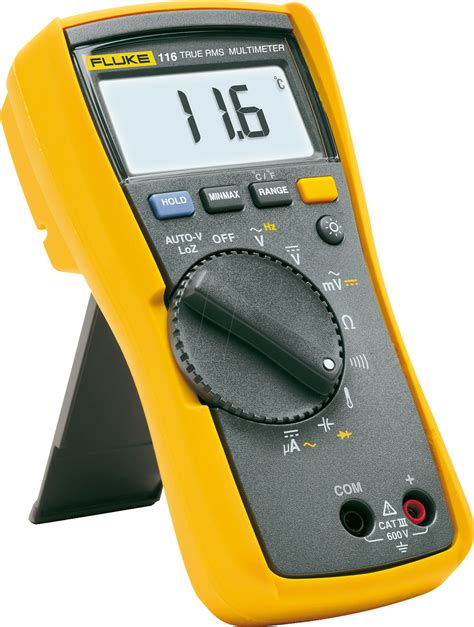 Multimeter Elektronik fluke 116 digital handheld multimeter at reichelt elektronik