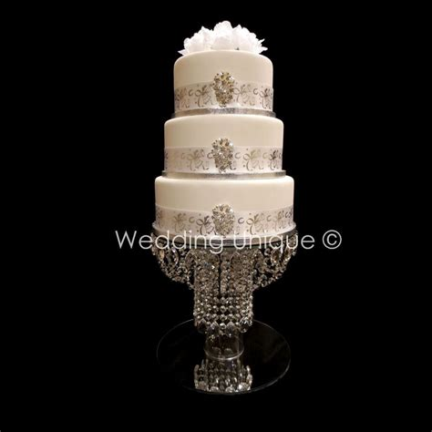 diy chandelier cake stand cake stand wedding cake stand glass chandelier