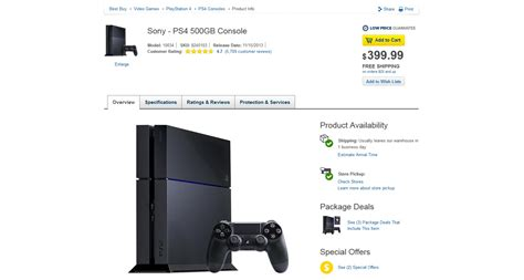 ps4 best buy playstation 4 available on best buy s website january