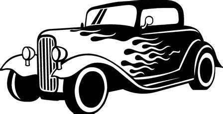 Pacman Auto Aufkleber by Flaming Car Wall Decal Auto Old Fashioned Route 66 Decal