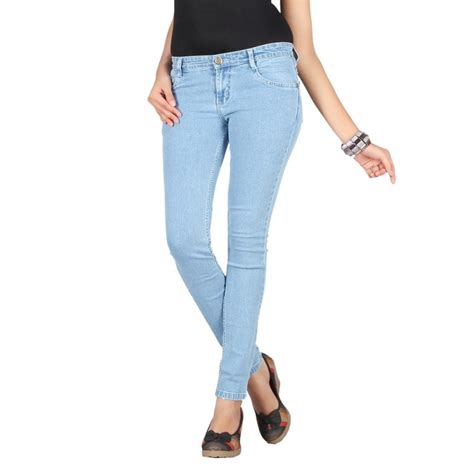 Light Blue Denim Jeans Women Jeans To