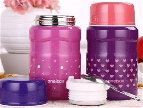 Vacuum Mini Food Jar Box Makanan Shuma 500ml Stainles Murah top 10 thermal food containers for office lunches