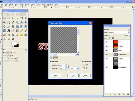 gimp tutorial text in a circle create a light text effect in gimp gimp tutorials blog