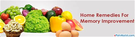 home remedies for memory improvement diet exercise tips