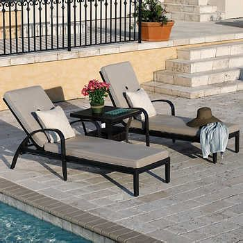 Costco Patio Chaise by Chaise Lounges Costco