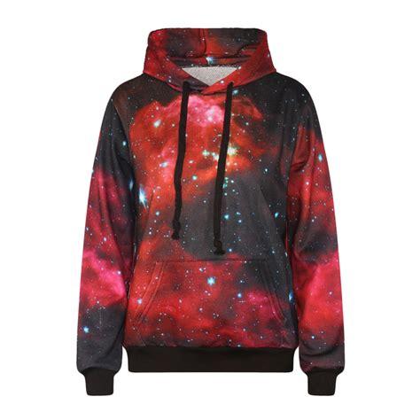 hoddie jaket harajuku galaxy hoodie sweater jacket unisex 183