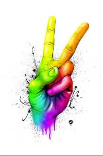 what color represents peace rainbow peace sign rainbow connection