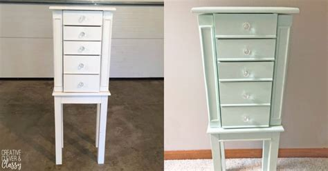 diy jewelry armoire creative clever and classy life by samantha