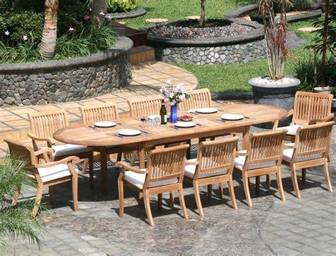 piece luxurious grade  teak dining set