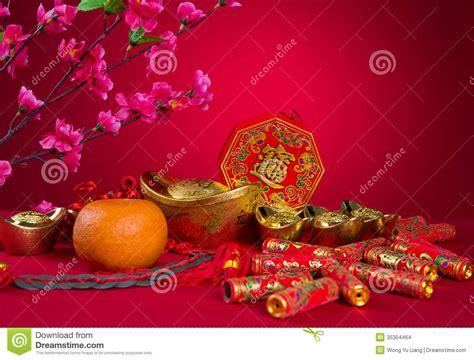 new year decorations symbols new year decoration plum blossom and gold bullion