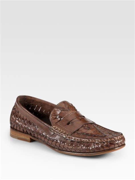 cole haan loafers cole haan air tremont loafers in brown for