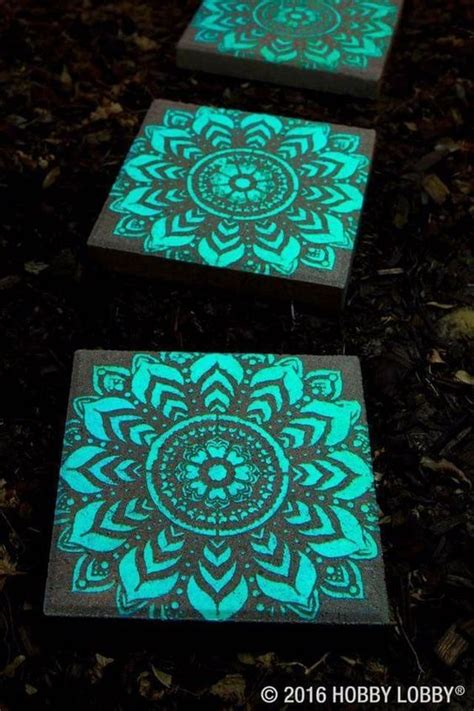 glow in the paint stepping stones 25 best ideas about glow in paint on