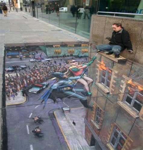 lokupa de cervells incredible paintings julian beever pavement 3d art