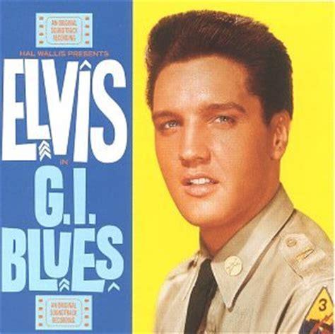 elvis presley: g.i. blues album cover parodies